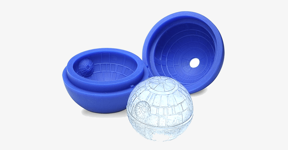 Star Wars Death Star Ice Mold – Upgrade Your Drinking Game!