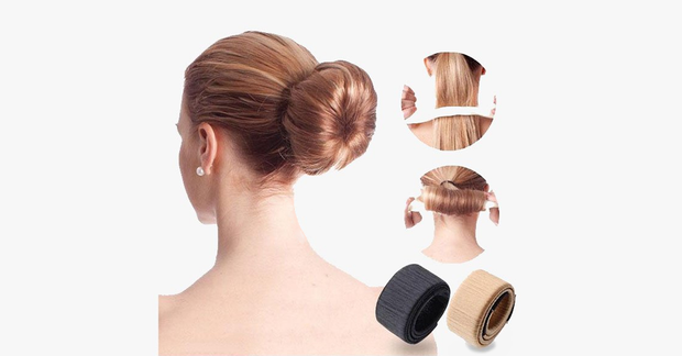 2 Pack French Twist Bun Makers - FREE SHIP DEALS