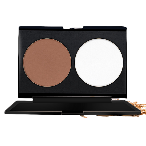 2 Color Contour Makeup Palette