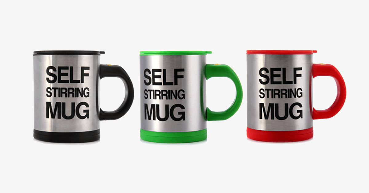 Self Stirring Mug – Say Hello to The Modern Mug!