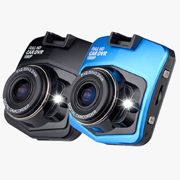 CAR GT300 Full 1080p HD DVR Dash Camera With Night Vision - Black or Blue - FREE SHIP DEALS