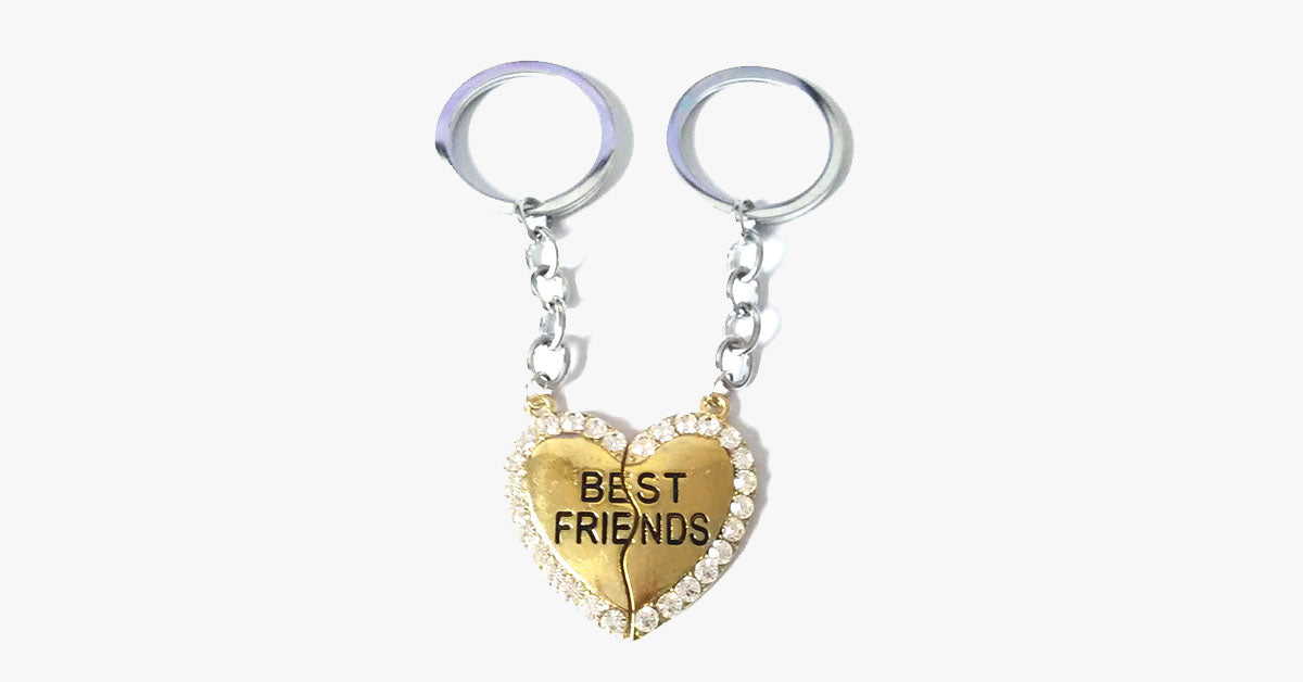 Best Friends Keychain - FREE SHIP DEALS