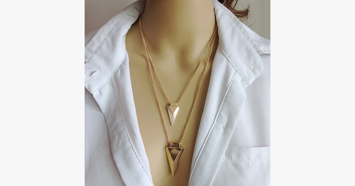 Multi-Layer Arrow Necklace - FREE SHIP DEALS