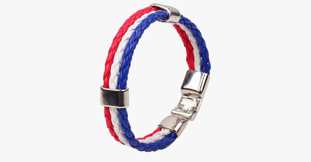 Team USA Flag Bracelet