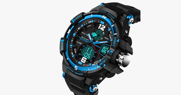 Men's Blue Sports Watch