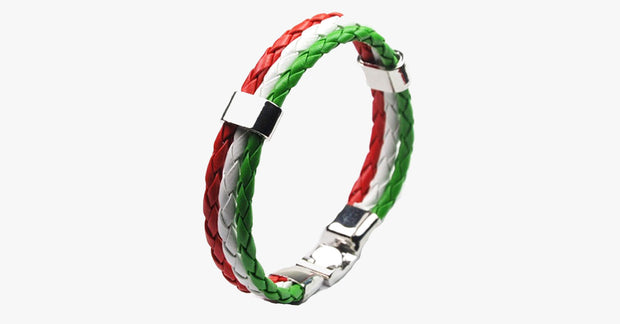 Team Hungary Leather Unisex Bracelet