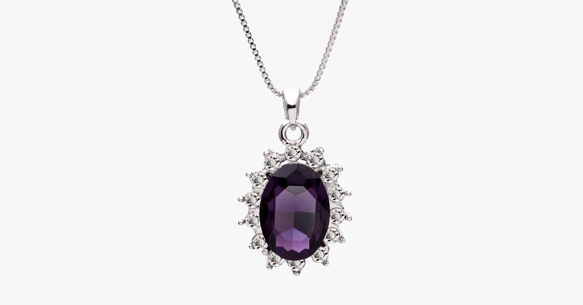 3 carat handcrafted alexandrite pendant with silver plated chain 3 carat handcrafted alexandrite pendant with silver plated chain free ship deals aloadofball Choice Image