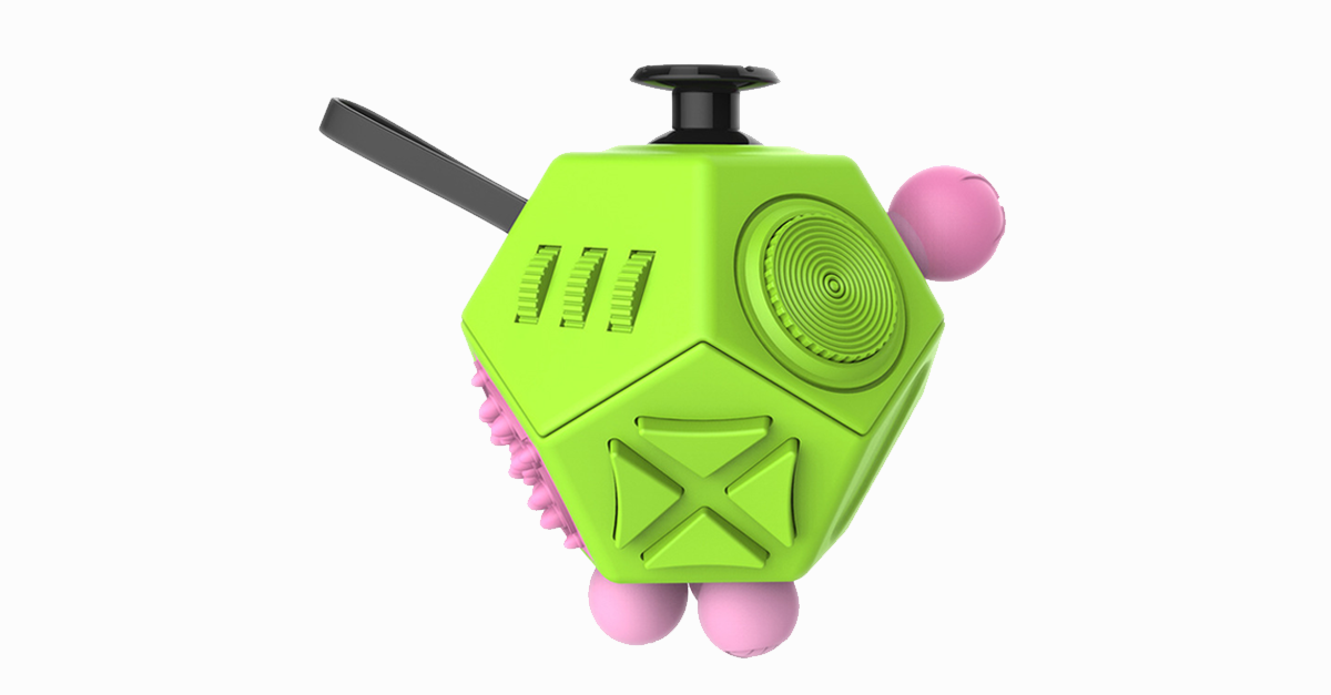12 Sided Anti-Stress Fidget Cube II - FREE SHIP DEALS