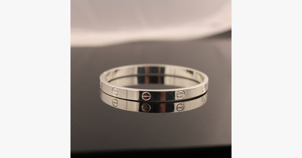 Silver Plated - Simplicity Bangle - FREE SHIP DEALS