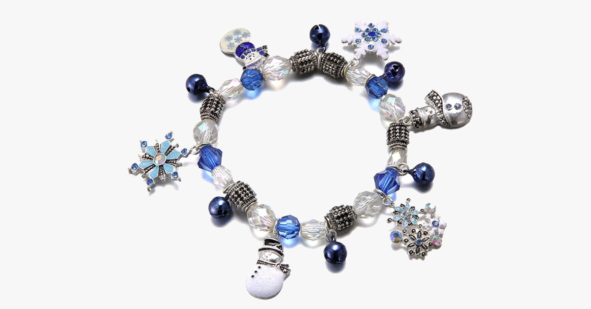 I Love Winter Charm Bracelet - FREE SHIP DEALS
