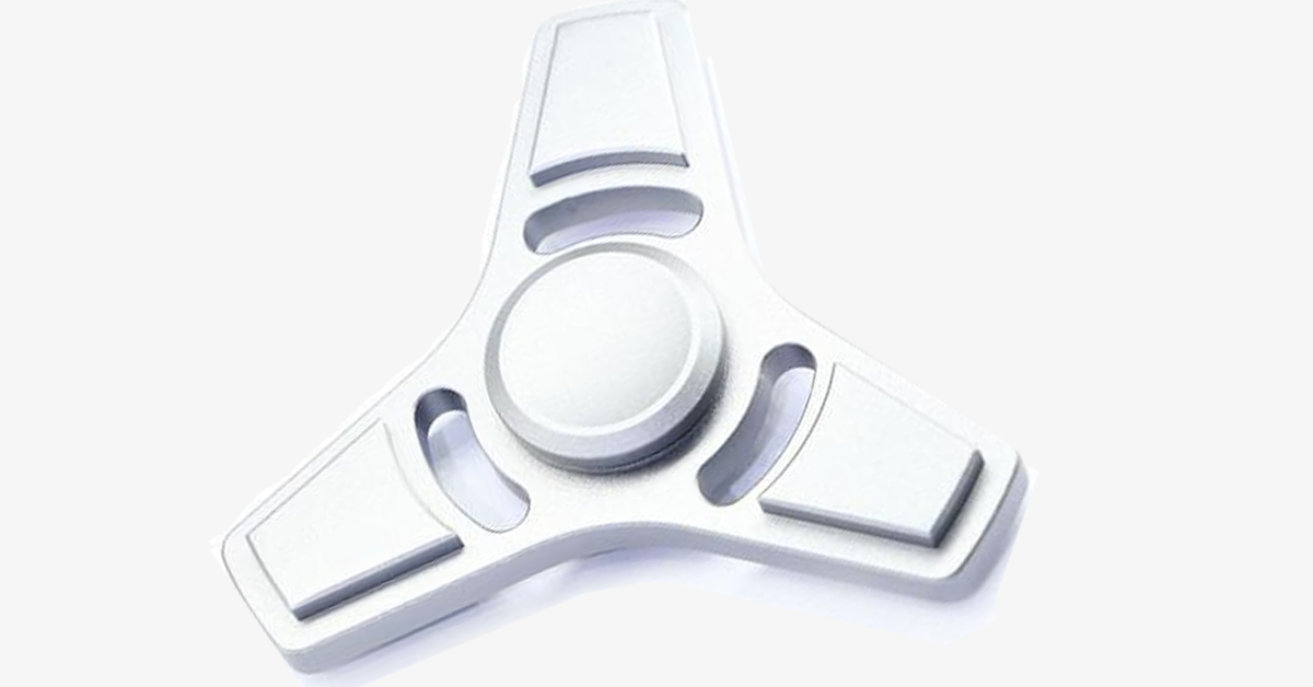 Metal Finger Fidget Tri Spinner