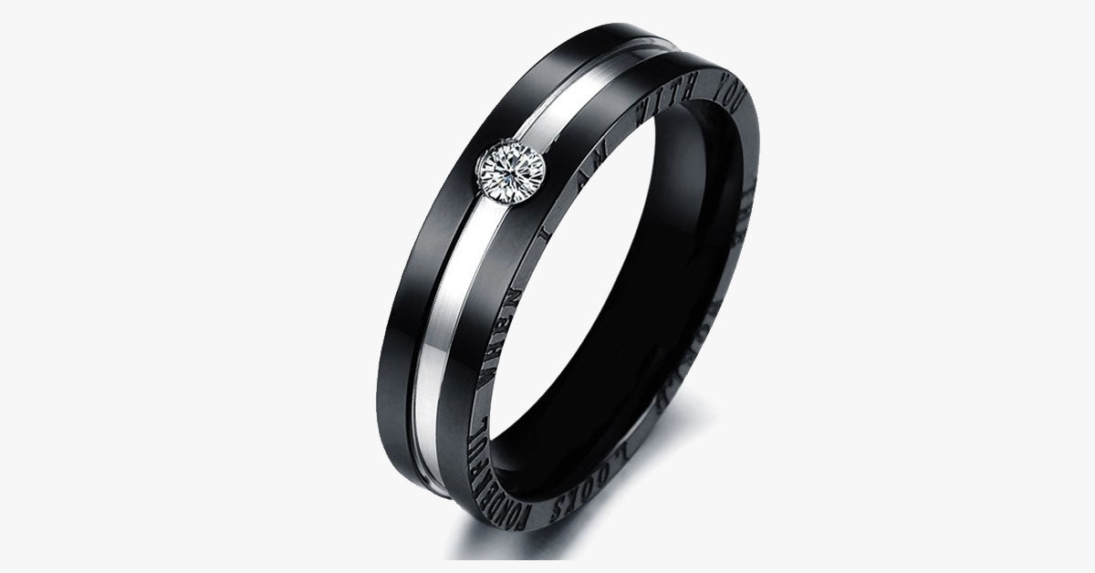 Black Titanium Ring - FREE SHIP DEALS