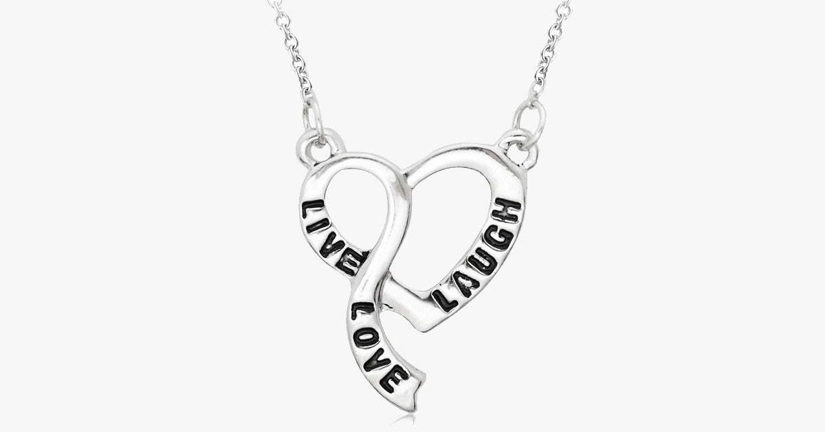 Live love laugh heart necklace free ship deals live love laugh heart necklace free ship deals aloadofball Gallery