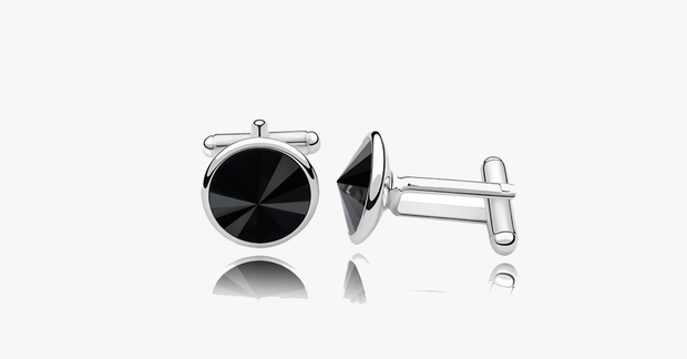 Platinum Cufflink – Classy and Elegant – Improve Your Overall Look by a Mile!