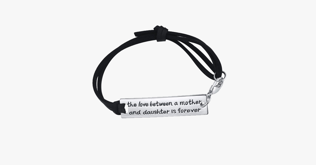 The Love Between A Mother And Daughter Is Forever - Personalized To Gift To Your Special One!