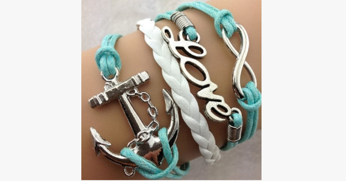 Anchor Love Infinity - FREE SHIP DEALS