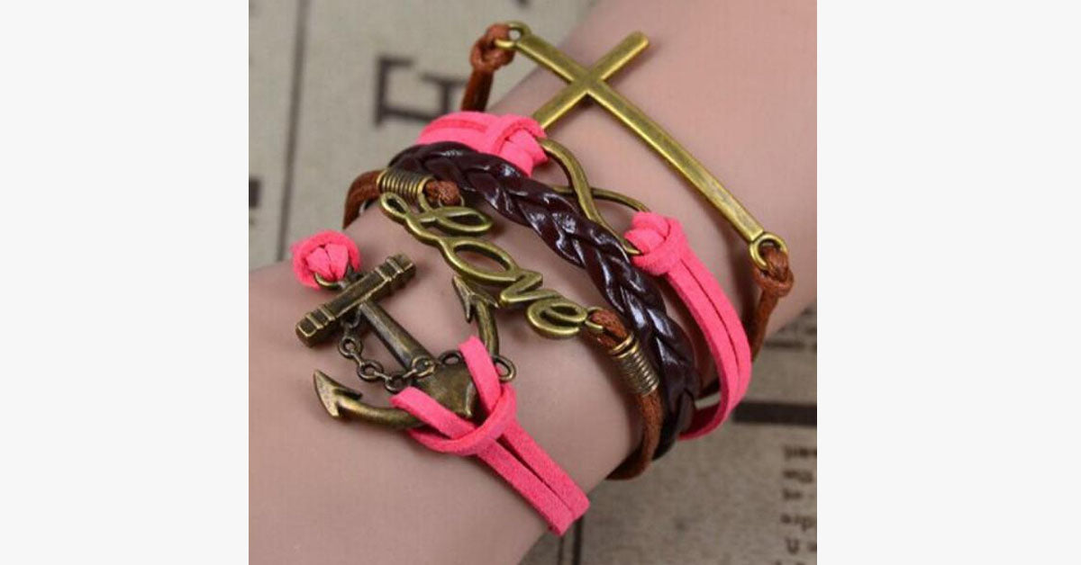 Anchor Love Infinity Faith - FREE SHIP DEALS