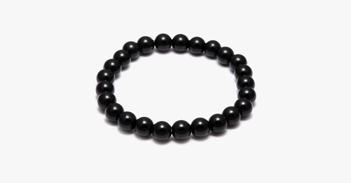 Black Zen Bead Bracelet - FREE SHIP DEALS