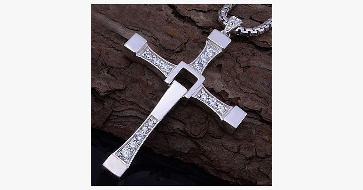 Cross Crystal Necklace - FREE SHIP DEALS