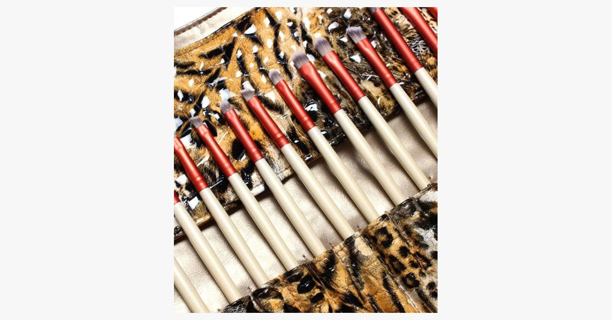 Fierce Tiger 24 Piece Brush Set - FREE SHIP DEALS