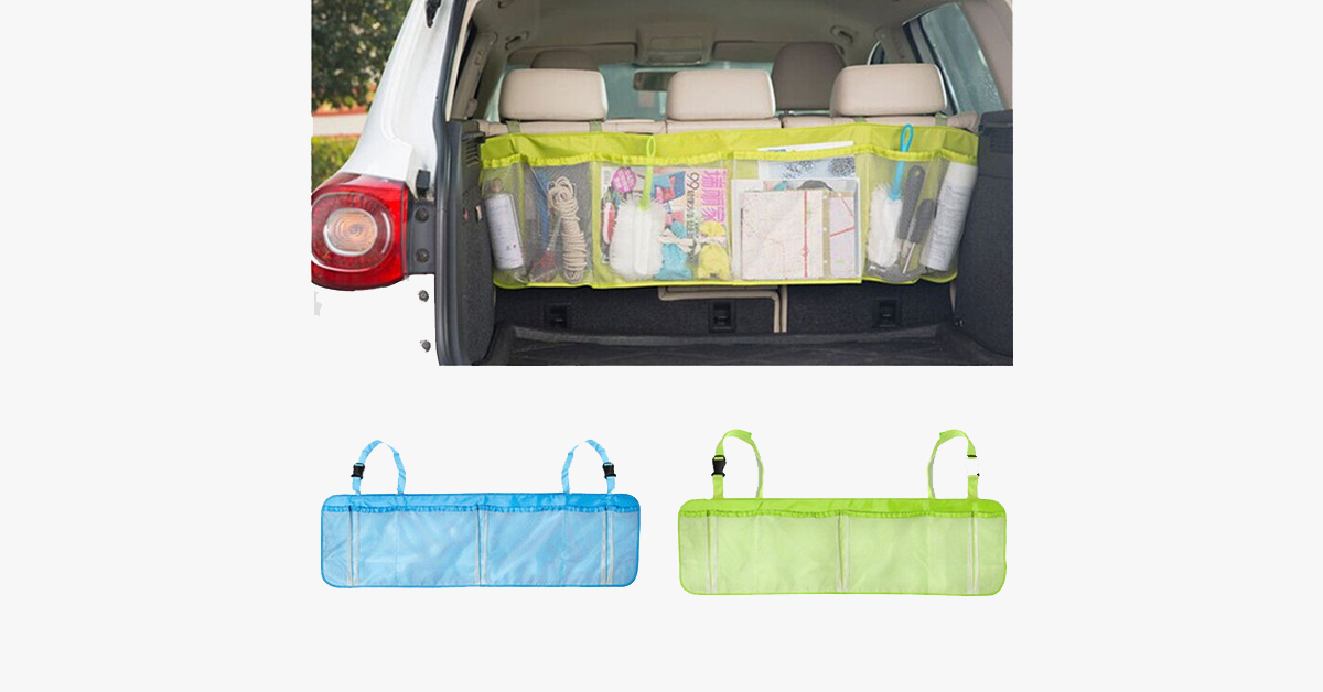 Six Section Backseat Organizer - FREE SHIP DEALS