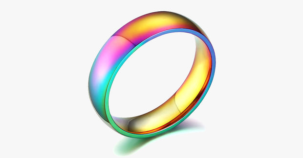 Unisex Rainbow Ring - FREE SHIP DEALS