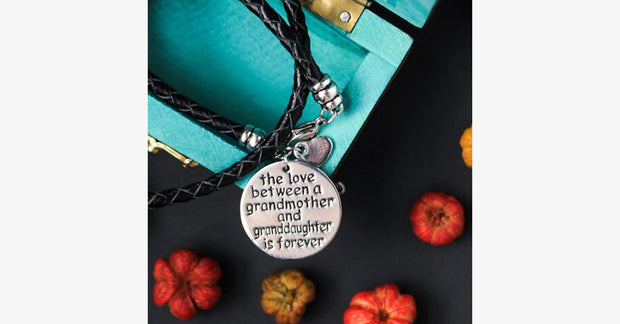 The Love Between A Grandmother and Granddaughter is Forever-HSB