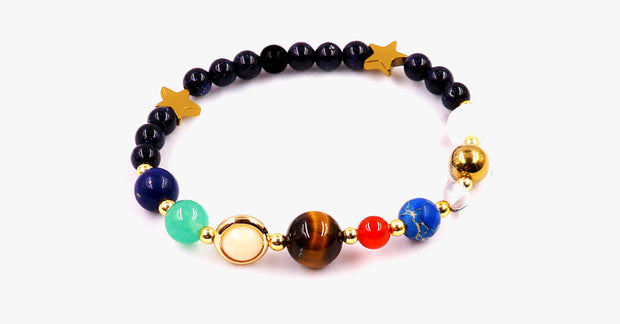 Universe Natural Stone Planet Bracelet - FREE SHIP DEALS