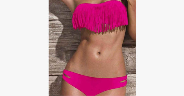 Fringe Bikini Swimsuit - FREE SHIP DEALS