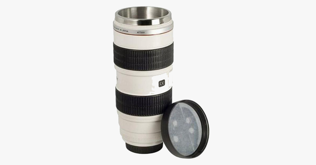 Zoom Lens Travel Mug - FREE SHIP DEALS