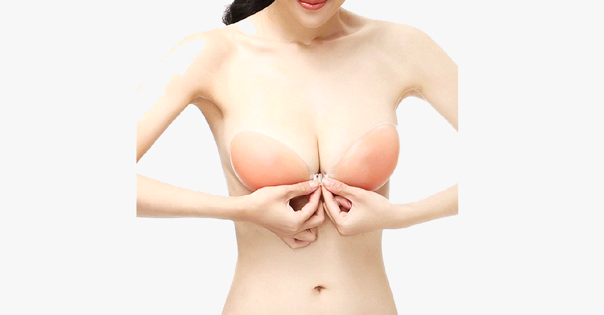 100% Silicone Strapless/Backless Invisible bra - FREE SHIP DEALS