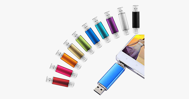 Extra Storage High Speed Android Flash Drive Multi-Color - FREE SHIP DEALS