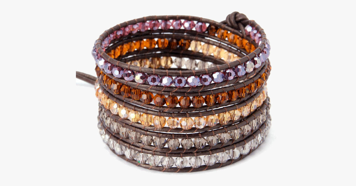 Mystical Night Wrap Bracelet - FREE SHIP DEALS