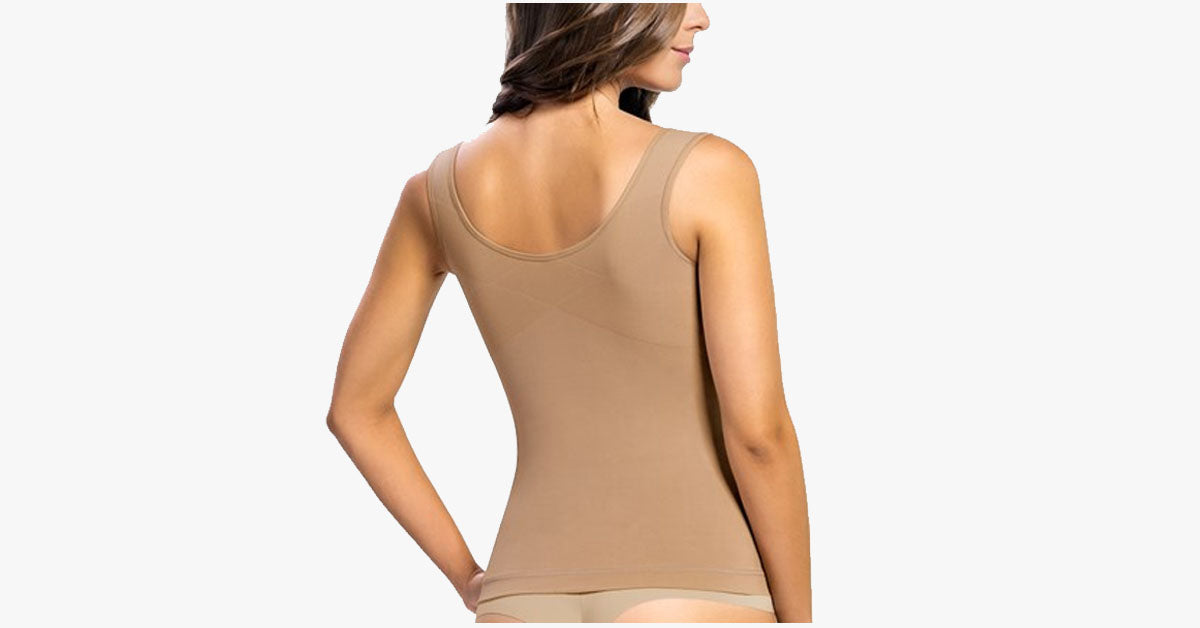 Women's Slimming Body-Support Undershirt Cami - FREE SHIP DEALS