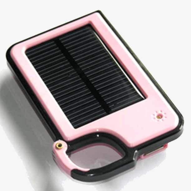 Smartphone Clip-On Solar Charger - Assorted Colors - FREE SHIP DEALS
