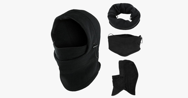 Fleece Beanies Neck Warmer Face Mask - FREE SHIP DEALS