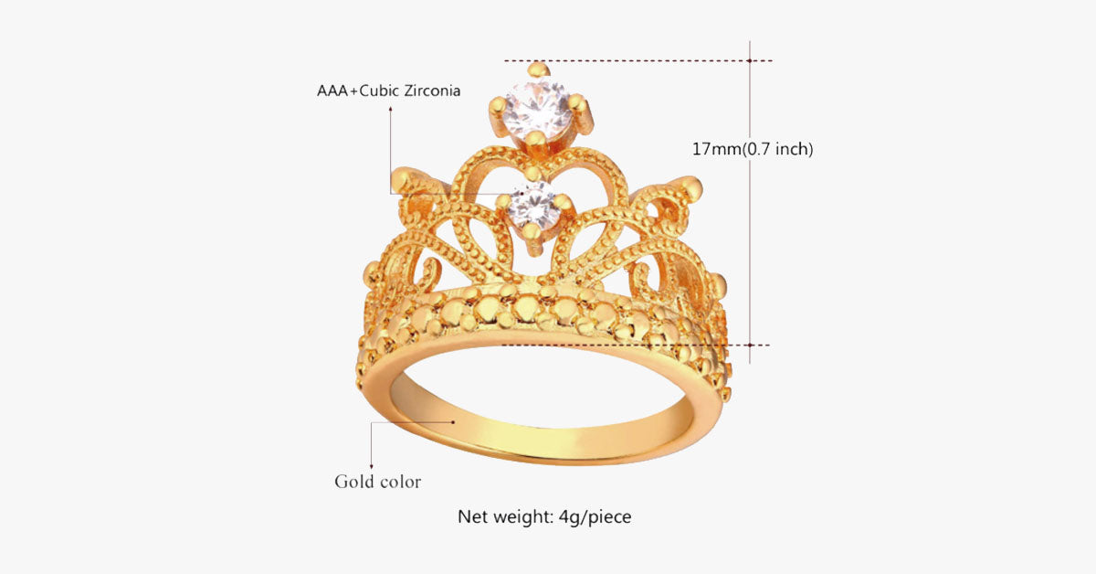 Princess Crown Ring – FREE SHIP DEALS ac56318f6cd4