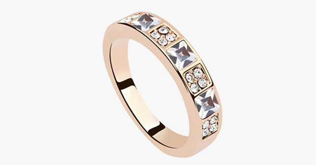 Princess Cut Eternity Band - FREE SHIP DEALS