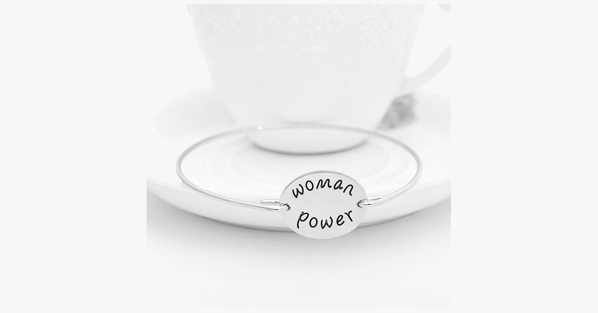 Woman Power Bangle - FREE SHIP DEALS