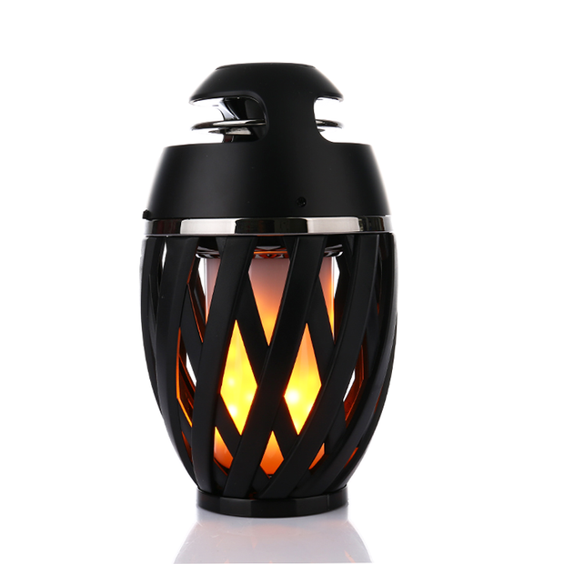 Led Speaker Flame Lamp