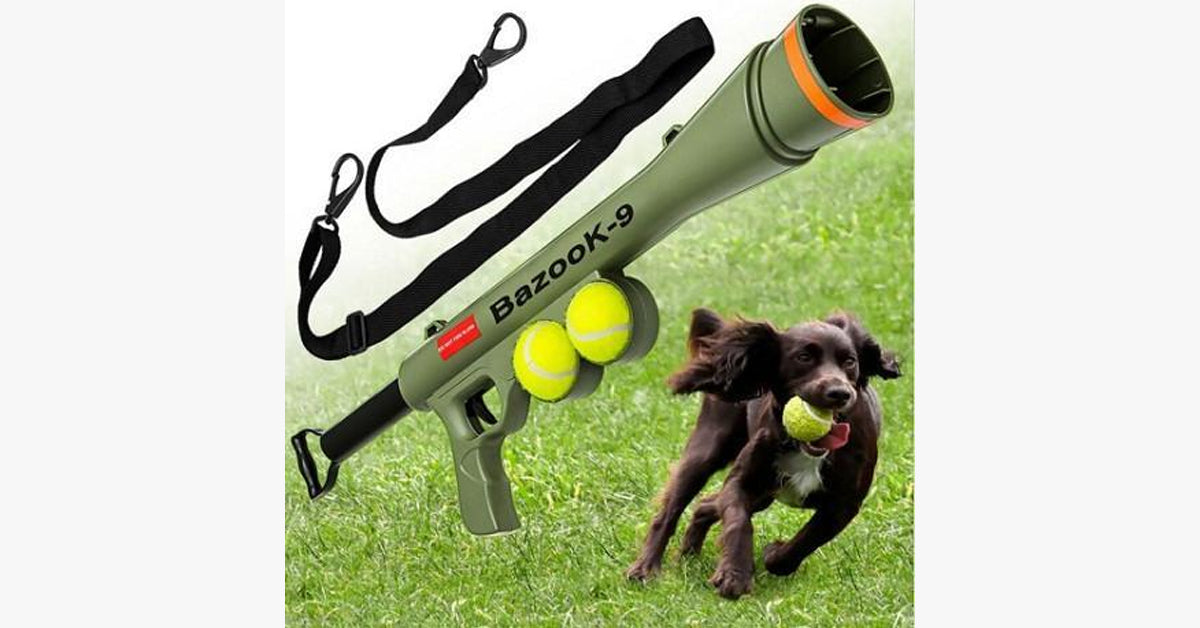 Bazook-9 Dog Toy Trainer - FREE SHIP DEALS