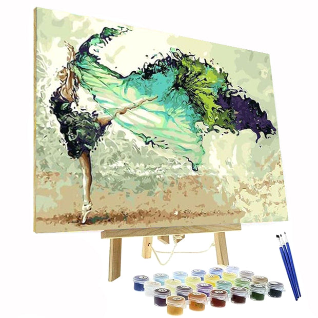 Paint By Numbers Kit - Butterfly Ballet