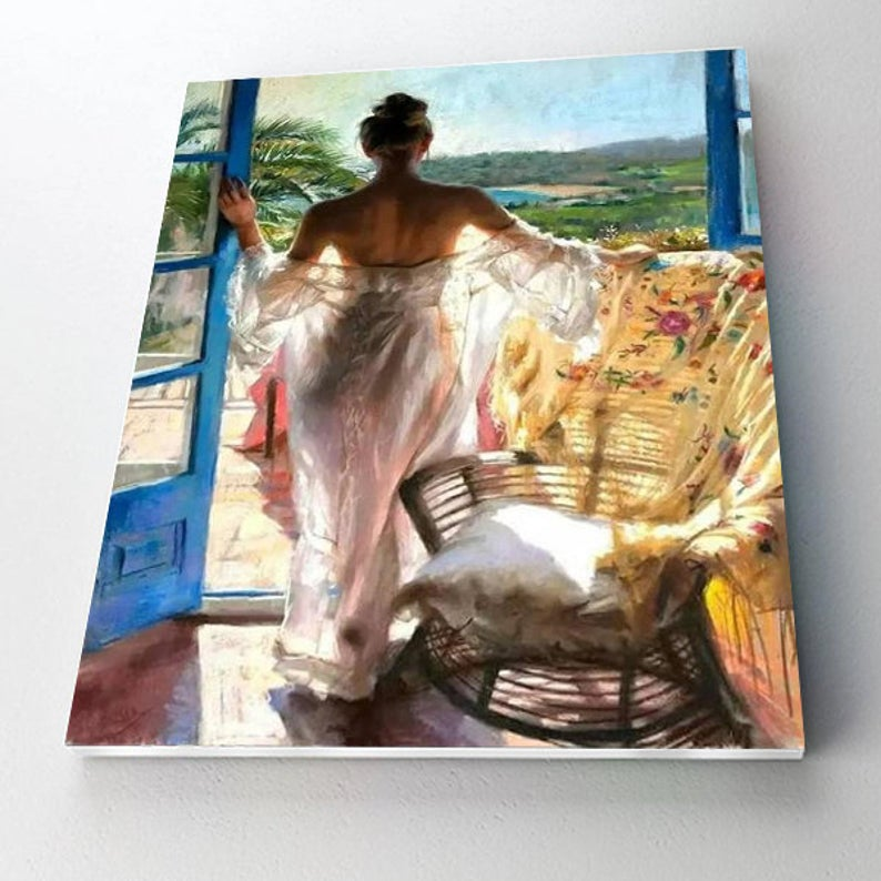 Paint By Numbers Kit - Beauty by the Door