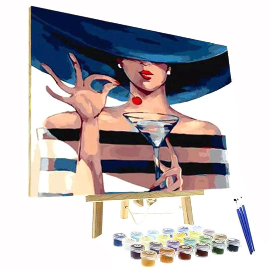 Paint By Numbers Kit - Lady Martini