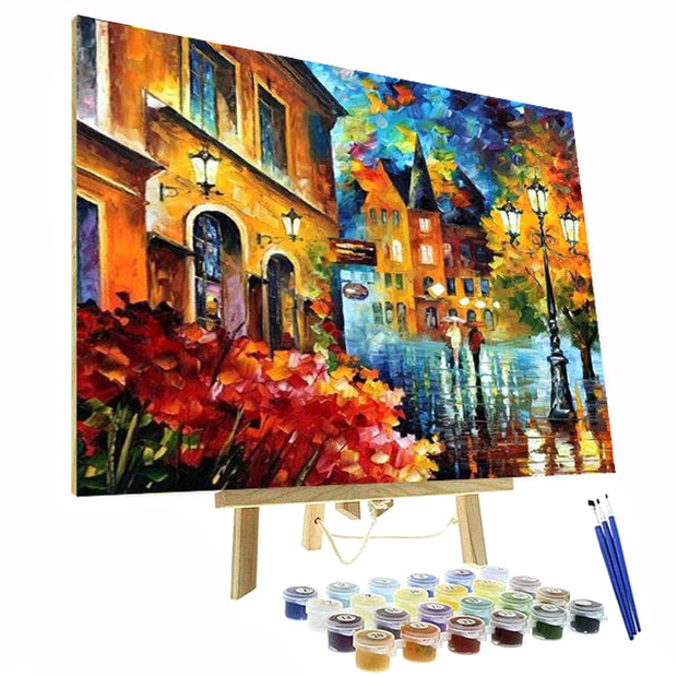 Paint By Numbers Kit - Colorful Street