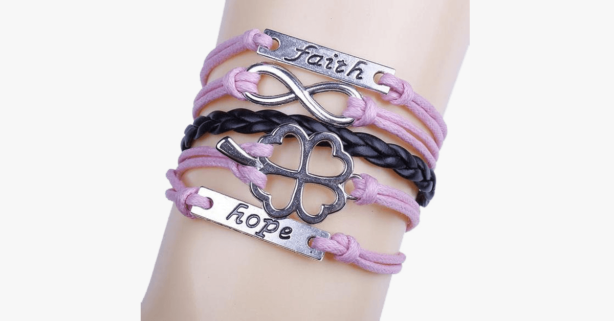 Clover Faith Hope Infinity - FREE SHIP DEALS