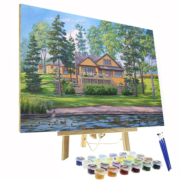 Paint By Numbers Kit - Cottage