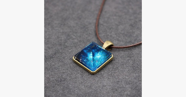 Crystal Pyramid Glowing Pendant - FREE SHIP DEALS