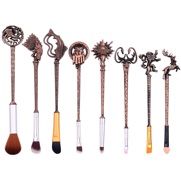 Games of Thrones Inspired 8 Pieces Makeup Brush