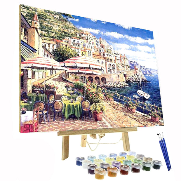 Paint By Numbers Kit - Coffee in Italy